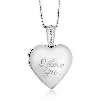 mini engraved locket for heart lockets products half silver children s uneak childrens buy