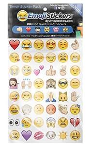 Emojistickers Most Popular Emojis, 288 Pack