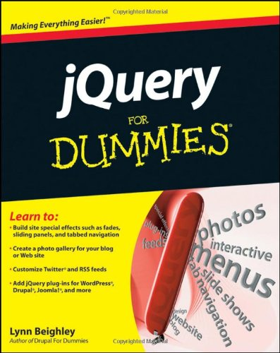[PDF] jQuery For Dummies Free Download | Publisher : For Dummies | Category : Computers & Internet | ISBN 10 : 0470584459 | ISBN 13 : 9780470584453
