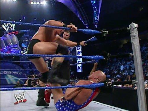 SmackDown September 18, 2003, 60 Minute Iron Man Match for the WWE Championship Kurt Angle vs. Brock Lesnar (Kurt Angle Vs Brock Lesnar Iron Man)