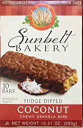 Fudge-Dipped COCONUT Chewy Granola Bars 10-Count (8 Boxes)