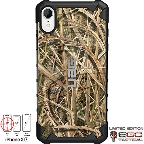 """Limited Edition Designs by Ego Tactical on a UAG Urban Armor Gear Case for Apple iPhone Xr (6.1"""")- Mossy Oak"""