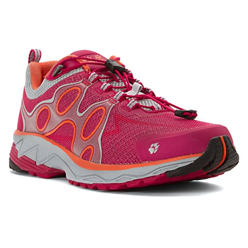 Jack Wolfskin Passion Trail Low - Zapatillas para correr - rojo 2016 azalea red
