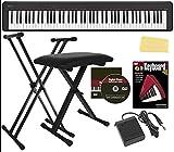 Casio CDP-S150 88-Key Compact Digital Piano Bundle