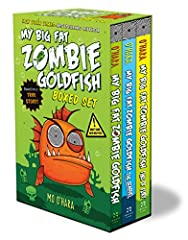 This must-have paperback boxed set includes the first three books in the winning and wacky My Big Fat Zombie Goldfish illustrated chapter book series, from New York Times–bestselling author Mo O'Hara.              Zapping Fran...