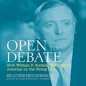 Open to Debate Audiobook