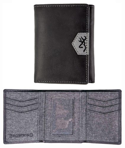 Lined Tri Fold Wallet - 1