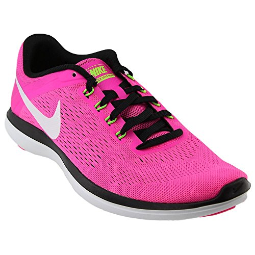16 RN Running Shoe, Pink Blast/Black/Electric Green/White, 8 B(M) US ()