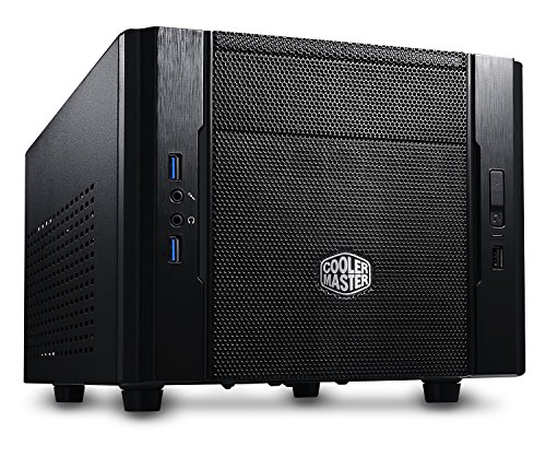 Cooler Master RC-130-KKN1 Elite 130 – Mini-ITX Computer Case with Mesh Front Panel and Water Cooling Support
