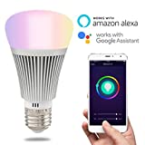 HEANTTV Smart Light, Sonoff B1 Wifi Dimmable Light, Multicolor Color Wireless Light, Led Remote Light, Timer Light By Phone Control, Wake up lights (6W E27)