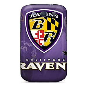 Great Cell-phone Hard Covers For Samsung Galaxy S3 With Customized Beautiful Baltimore Ravens Image JoanneOickle