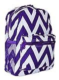 Best Ever Moda Baby Evers - Ever Moda Chevron Mini Backpack (Purple) Review