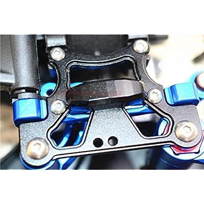 Arrma Kraton 6S BLX (AR106005/106015/106018) Upgrade Parts Aluminium Rear Arm Bulk for Front Upper Arms - 1Pc Set Black: Toys & Games