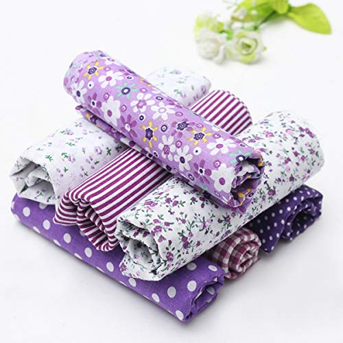 purple fabric for sewing - 5