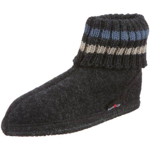 Haflinger Paul, Zapatillas de Casa, Infantil Gris (Grau/Graphit)