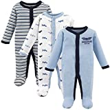 Luvable Friends Baby Preemie Sleep and Play, 3 Pack, Airplanes