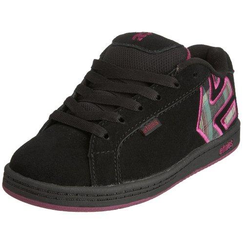 Etnies Fader Skate Shoe (Toddler/Little Kid/Big Kid),Blackberry,2 M US Little Kid