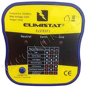 Professionelle Steckdosenprüfgerät mit auslaufen Test – Check für ...