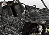 Polaris RZR 1000 Graphics Kit - NITRO - Black Design