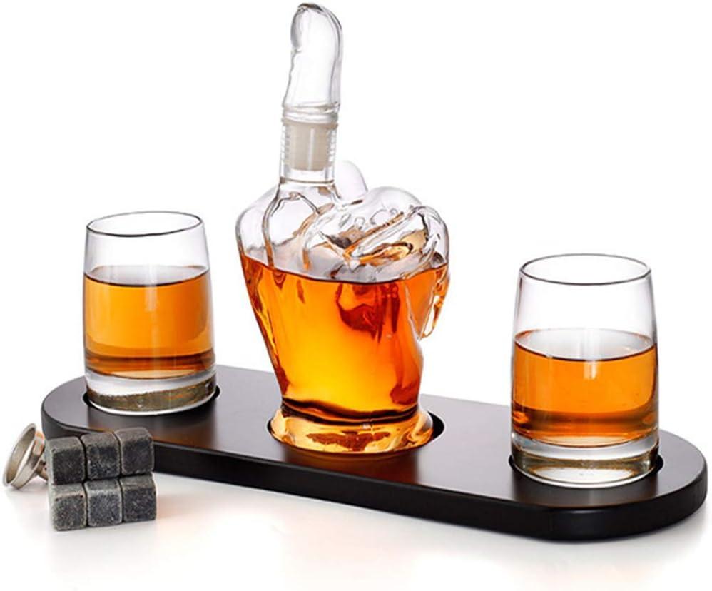 ZHJIUXING HO jarras de Vino, Set de jarras de Whisky, Sets de ...