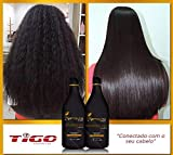 Tigo Moroccan Progressive Brush | Brazilian Keratin Hair Treatment Redux 2L | Smoohing System