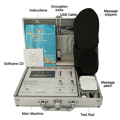 EHM Quantum Magnetic Resonance Body Analyzer® & Massage Therapy | Non-Invasive, Whole Body Health Scanner | 45 Reports In English & Spanish by LTD (Image #1)