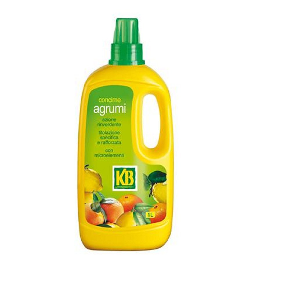 concime liquido 1LT per agrumi kb NAG2 PER PIANTE IN VASO O A TERRA ITAL-AGRO