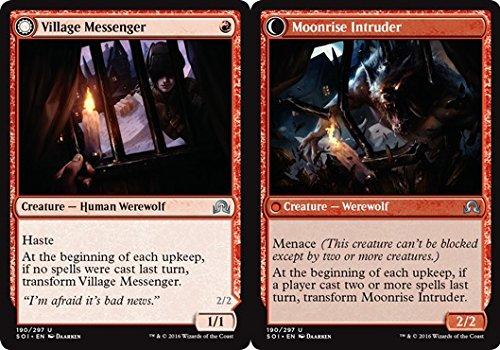 magic-the-gathering-village-messenger-moonrise-intruder-190-297-shadows-over-innistrad