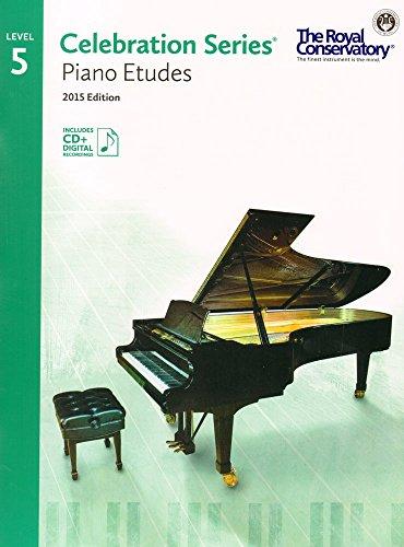 C5S05 - Royal Conservatory Celebration Series - Piano Etudes Level 5 Book 2015 Edition ()