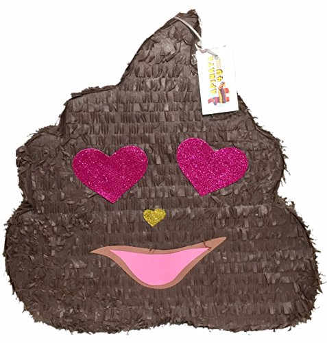 Valentine's Day Poop Emoticon Pinata 19