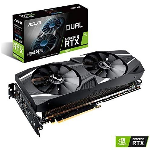 chollos oferta descuentos barato Asus GeForce RTX 2070 DUAL A8G 8GB GDDR6
