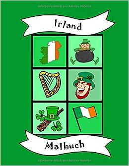 Malbuch Irland Fur Kinder Und Kleinkinder Vorschule