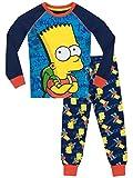 simpson merchandise - The Simpsons Boys' Bart Simpson Pajamas Size 8