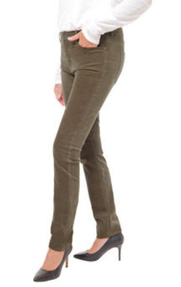 Buffalo David Bitton Mid-Rise Skinny Velvet Pant for Women