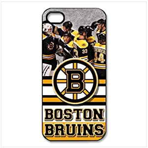 Ebaykey Custombox Boston Bruins Durable Silicone Case Cover for iphone 4 4S