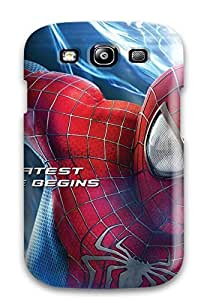 For CaseyKBrown Galaxy Protective Case, High Quality For Galaxy S3 The Amazing Spider Man 2 Movie Skin Case Cover