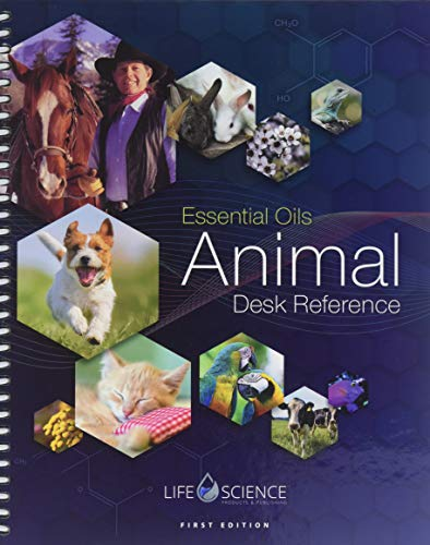 1ST EDITION ESSENTIAL OILS ANIMAL DESK REFERENCE- EODR