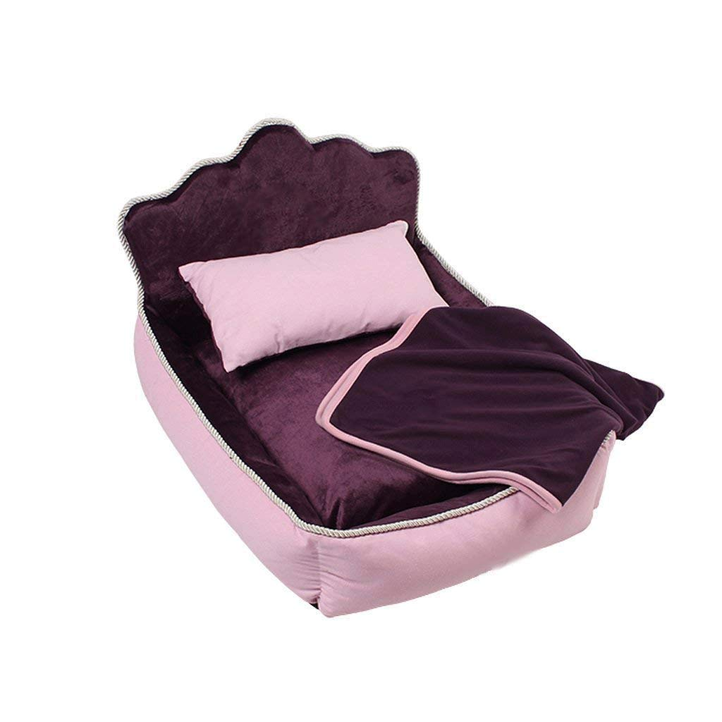 PURPLE S PURPLE S XAJGW Orthopedic Memory Foam Dog Bed Waterproof Bolster Beds Large Extra Large Dogs Durable Pet Bed Big Dogs