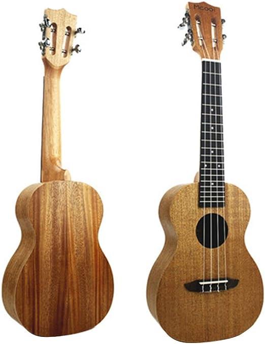Shiduoli Guitarra pequeña de Cuatro Cuerdas de Ukelele Hawaiano de ...