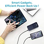 Ambrane 10000mAh Li-Polymer Powerbank with Compact Size & Fast Charging for Smartphones, Smart Watches, Neckbands…