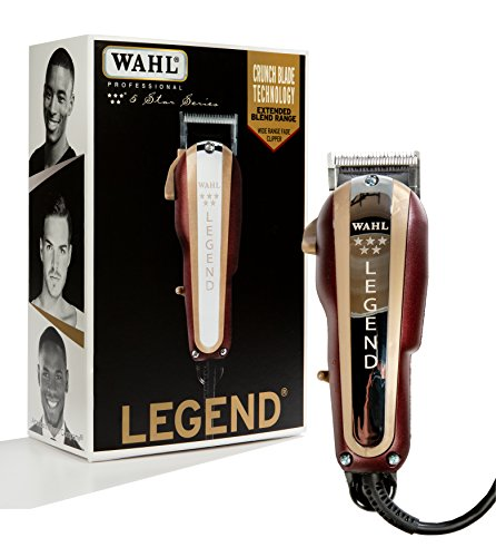 (Wahl Professional New Look 5-Star Legend Clipper #8147 - The Ultimate Wide-Range Fading Clipper with Crunch Blade Technology - Includes 8 Attachment Combs)