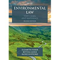 Environmental Law: Text, Cases & Materials