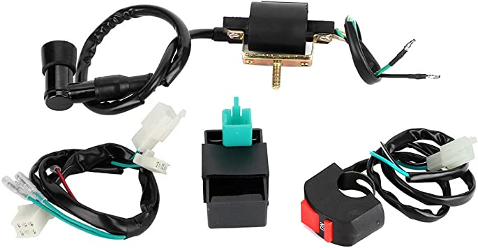 Amazon.com: Cuque Motorcycle Wiring Harness Kit ABS Plastic Motorbike  Complete Kick Start Engine Starting Cable Wiring Harness Accessary  Universal Fit for 50cc 125cc 140cc Pitpro Dirt Bike: Automotive   Motorcycle Wiring Harness Kit      Amazon.com