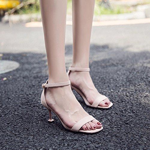 Strappy Ladies Peep blu Toe Scarpe 5 Altezza Cm Con E 5cm Party altezza Donna Kitten Heel Caviglia Alla Cinturino Sandali Tacco Ruiren 7cm vFS87Bzwqx