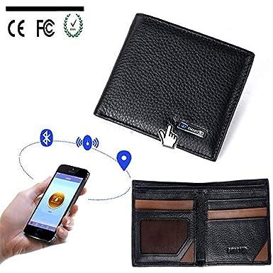 Alarm GPS Waterproof /& Anti-Theft Wallet The Smart Wallet