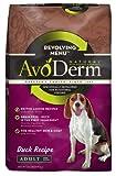 AvoDerm Natural Revolving Menu Adult Dog Food, Duck, 22-Pound, My Pet Supplies