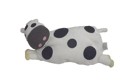 X- otros – Doudou Zara Home vaca allonge Semi plana blanco mancha gris – 6228