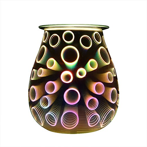 SUNPIN Candle Warmers Wax Warmers Electric Oil Warmer Incense Oil Warmer Fragrance Warmer Night Light Aroma Decorative Lamp for Gifts & Decorfor Suit for Home Office Bedroom Living Room - Warmer Electric Wax Oil