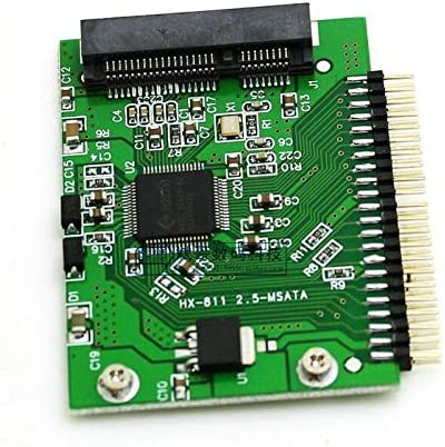 Cable Length: Other Computer Cables Mini PCI-e SSD Msata 1.8 Yoton IDE 2.5 Polegada 5 V 44pin Msata PCI Express Adaptador de Cartao Conversor Sata Yoton O Portatil No