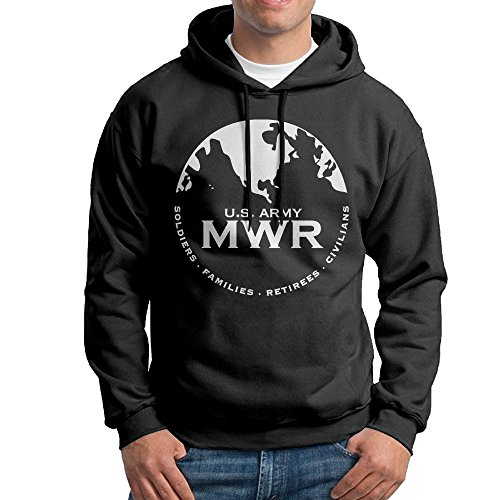 Men's Family And MWR Logo Pullover